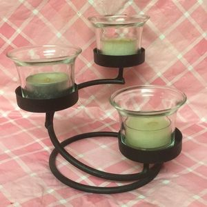 🕯SMALL 3 CUP CANDLE HOLDER🕯